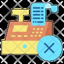 Cancel Invoice Generating Icon