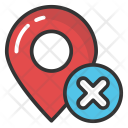 Cancel Location Icon