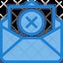 Remove Cancel Mail Delete Mail Icon