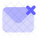 Cancel-mail Icon