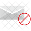 Cancel Access Mailbox Icon