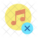 Cancel Music Icon