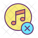 Icancel Cancel Music Delete Music Icon