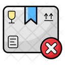 Cancel Order Order Denied Remove Order Icon