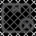 Cancel Order Order Denied Order Rejected Icon