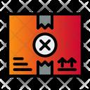 Cancel Parcel Icon