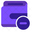 Cancel Payment Remove Payment Wallet Icon
