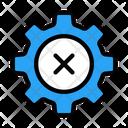Cancel Setting Icon