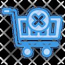 Cancel Shopping Cancel Delete Icon