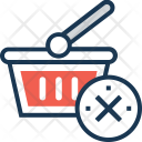 Cancel Shopping Icon