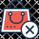 Cancel shopping Icon
