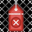 Cancel Tag Icon