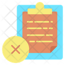 Cancel Task Icon