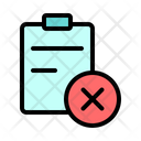 Cancel Repeal Shopping Icon