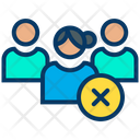 Cancel User Cancel Profile Female Profile Icon