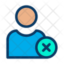Cancel User Cancel Profile Male Profile Icon