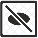 Cancel view Icon
