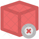 Canceled Delivery Box Icon