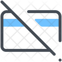 Cancellation Card Delete Icon