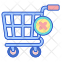 Cancellation Remove Cart Remove Trolley Icon
