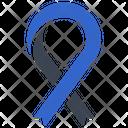 Cancer Ribbon Awareness Ribbon Icon
