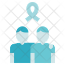 Charity Donation Hug Icon