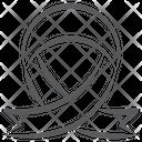 Cancer Symbol Awareness Symbol Symbolic Ribbon Icon