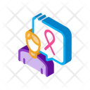 Male Volunteer Cancer Icon