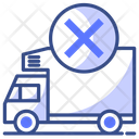 Cancle Delivery Icon