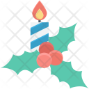 Candel Cherry Wreath Icon