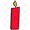 Candel Flame Light Icon