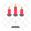 Candelabra Light Decoration Icon