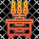 Candelabra Household Decoration Icon