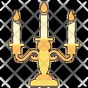 Candelabra Celebration Candle Icon