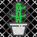 Candelabra Cactus Succulent Icon