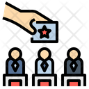 Candidate Compititor Election Icon