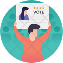 Candidate Comparison Success Evaluation Candidate Progress Icon