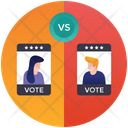 Candidate Comparison Candidate Comptition Candidate Progress Icon