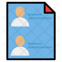 Candidate details Icon