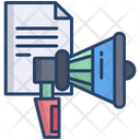 Candidate List Announcement Icon
