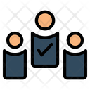 Candidate Selection Selected Candidate Approved Icon