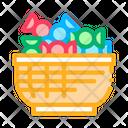 Candies Clients Color Icon