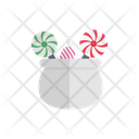 Candies Toffee Halloween Icon