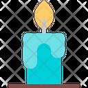 Candle Decoration Celebration Icon