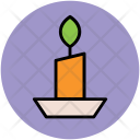 Candle Holder Candlestick Icon