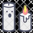 Candle Flame Halloween Icon
