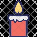 Candle Celebration Decoration Icon