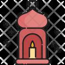 Candle Muslim Prayer Icon