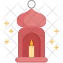 Candle Muslim Prayer Icon