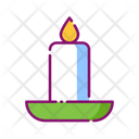 Candle Christmas Xmas Icon